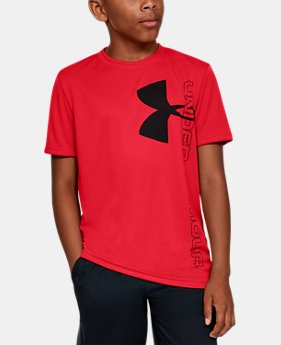 e845dc1c50 Boys' Red Kids (Size 8+) Short Sleeve Shirts | Under Armour US