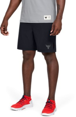 Under Armour x Project Rock Mens Shorts Gym Running Pants 1346070 012