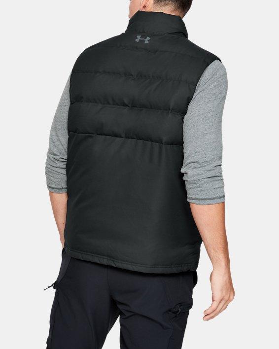 Men's Project Rock Vest, Black, pdpMainDesktop image number 2