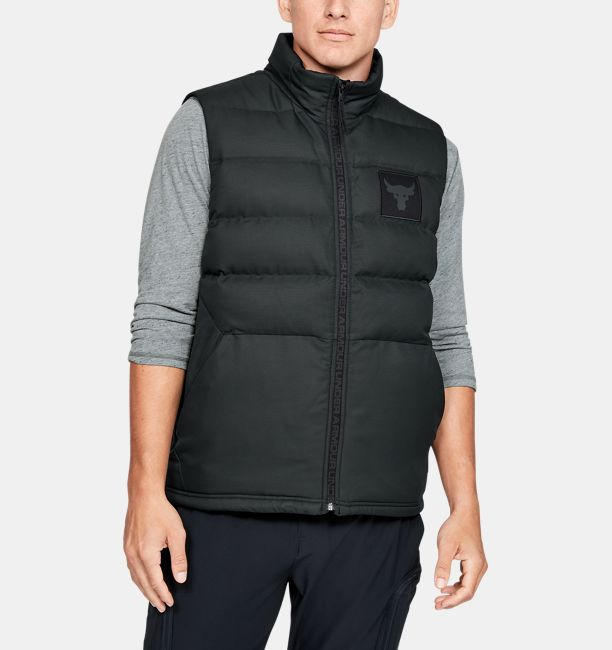 Men's Project Rock Vest, Black , , Black , Click to view full size