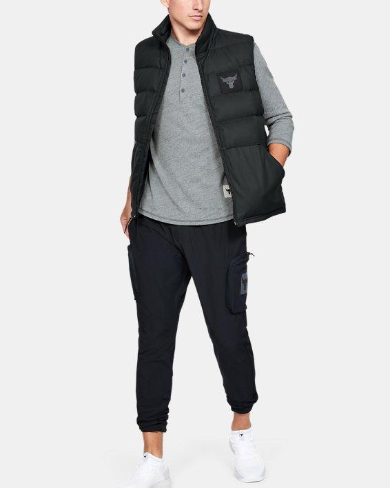 Men's Project Rock Vest, Black, pdpMainDesktop image number 0