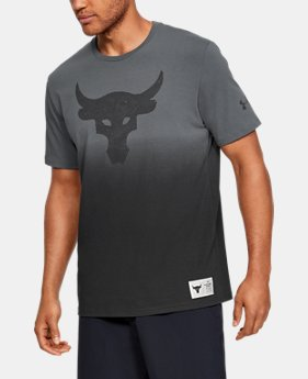 84a68300 New Arrival Men's Project Rock Bull Graphic Short Sleeve 2 Colors Available  $35