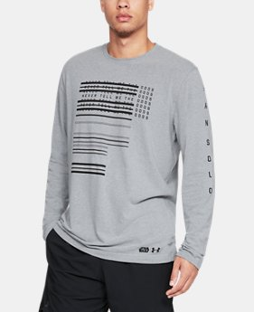 Men's UA Han Solo Odds Long Sleeve  1  Color Available $40