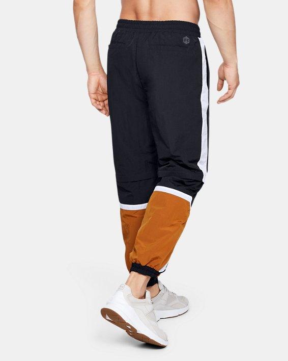 Men's UA Always On Recovery Windbreaker Pants, Black, pdpMainDesktop image number 2