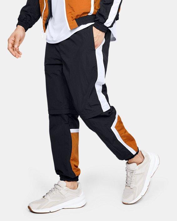 Men's UA Always On Recovery Windbreaker Pants, Black, pdpMainDesktop image number 1