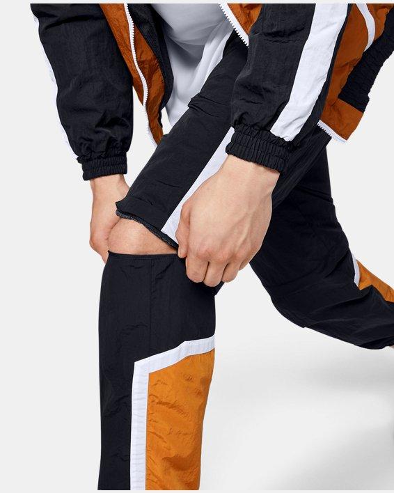 Men's UA Always On Recovery Windbreaker Pants, Black, pdpMainDesktop image number 6