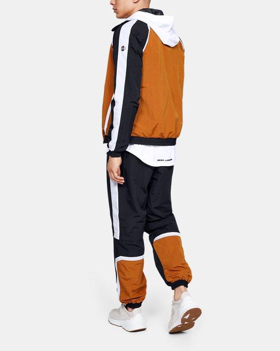 Men's UA Always On Recovery Windbreaker Pants, Black, pdpMainDesktop image number 0