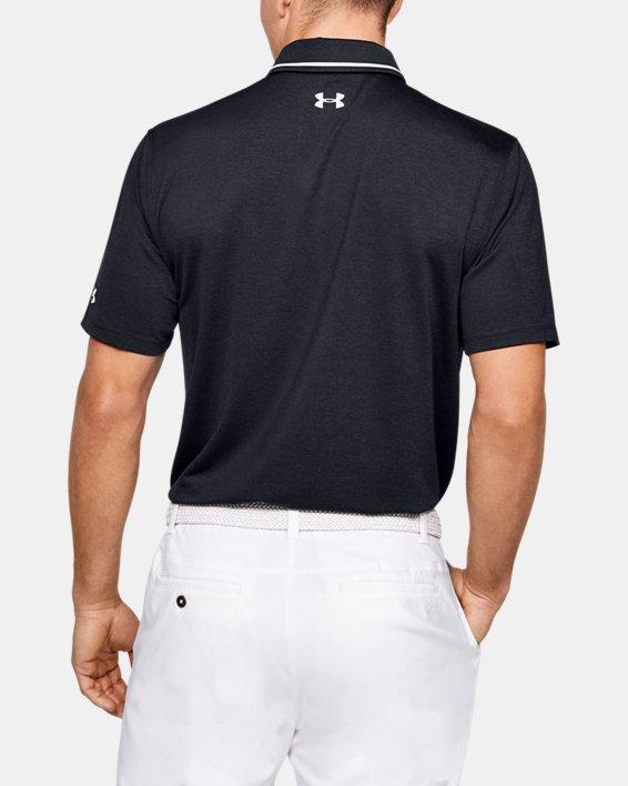 Men's UA Playoff Pocket Polo, Black, pdpMainDesktop image number 2