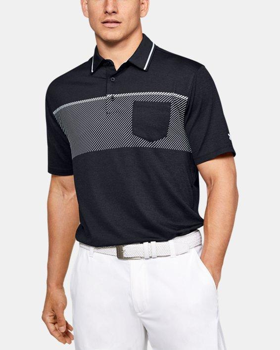 Men's UA Playoff Pocket Polo, Black, pdpMainDesktop image number 0