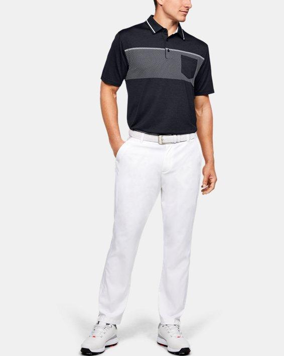 Men's UA Playoff Pocket Polo, Black, pdpMainDesktop image number 1