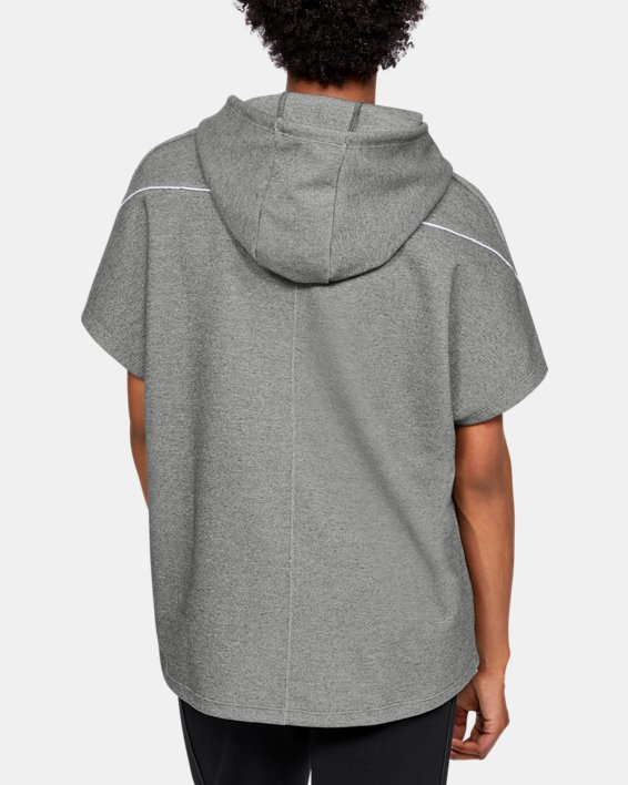 Women's Project Rock Double Knit Short Sleeve Tunic, Gray, pdpMainDesktop image number 3