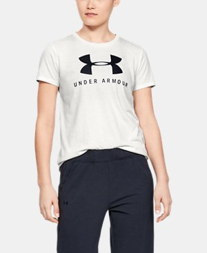 048ee9b3 Women's White Short Sleeve Shirts | Under Armour US