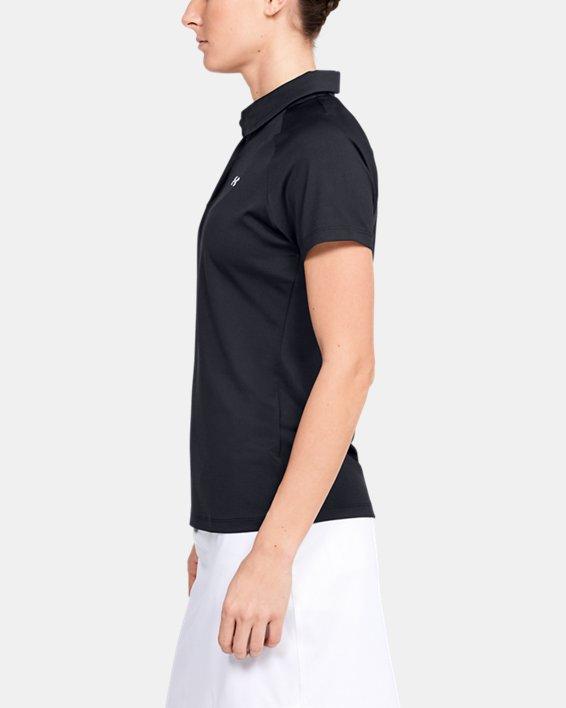 Women's UA Zinger Polo, Black, pdpMainDesktop image number 3
