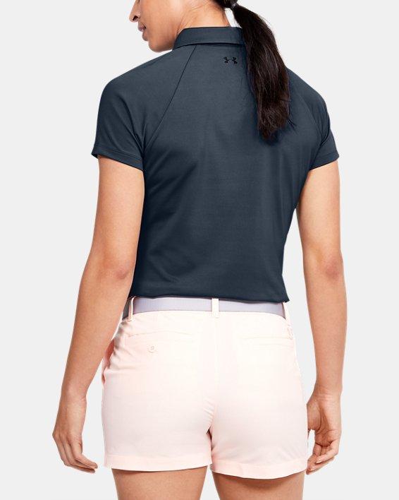 Women's UA Zinger Polo, Gray, pdpMainDesktop image number 2