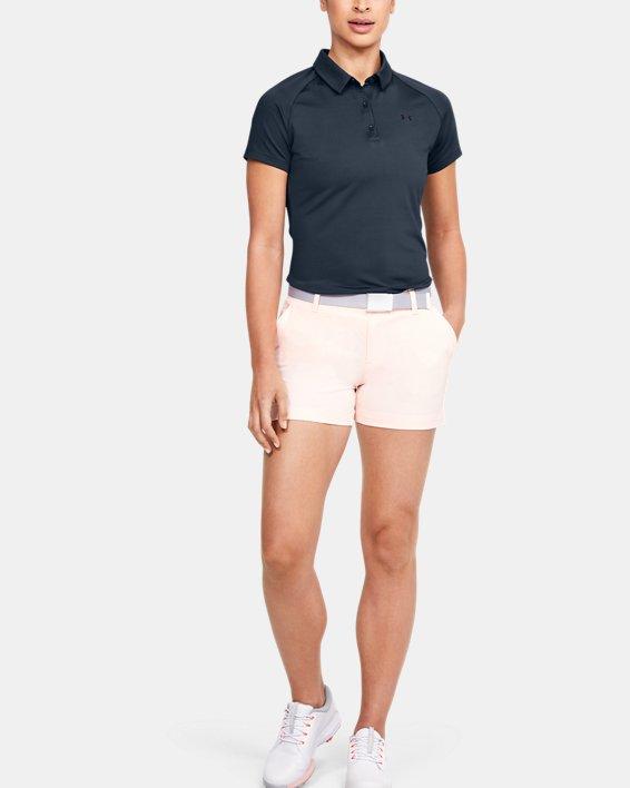 Women's UA Zinger Polo, Gray, pdpMainDesktop image number 1