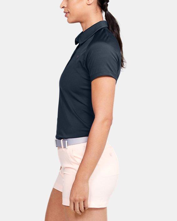 Women's UA Zinger Polo, Gray, pdpMainDesktop image number 3