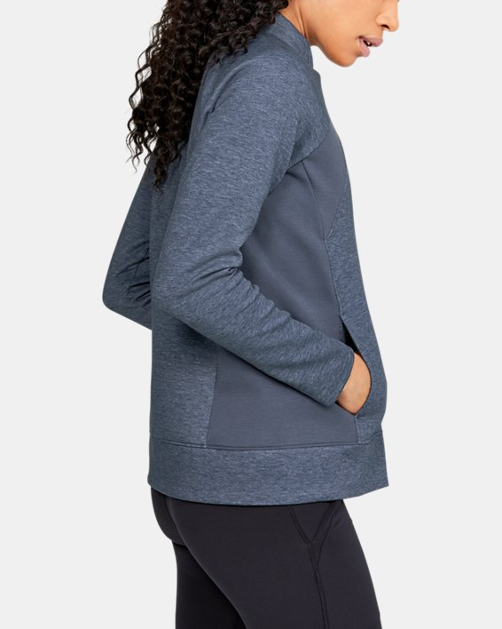 Women's UA Golf Layer Jacket, Gray, pdpMainDesktop image number 3