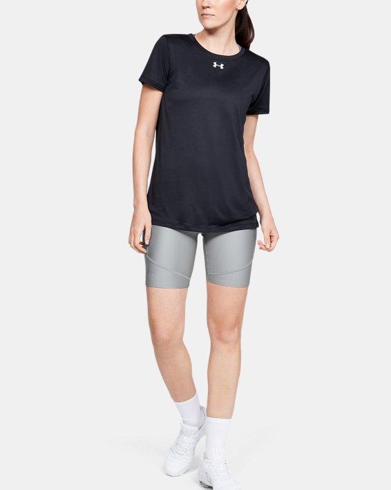 Women's UA Softball Slider Shorts, Gray, pdpMainDesktop image number 1