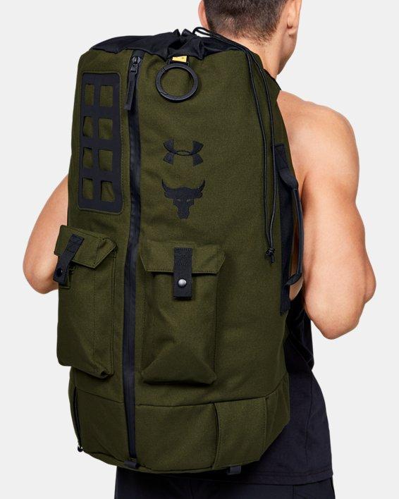 Men's Project Rock 90 Bag, Green, pdpMainDesktop image number 0