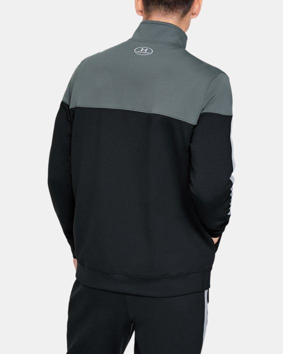 Men's Project Rock Track Jacket, Black, pdpMainDesktop image number 2