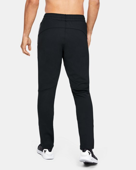 Men's Project Rock Track Pants, Black, pdpMainDesktop image number 2