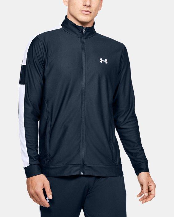 Men's UA Twister Jacket, Navy, pdpMainDesktop image number 0