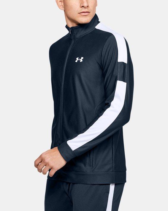 Men's UA Twister Jacket, Navy, pdpMainDesktop image number 3