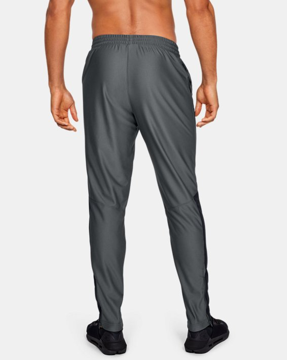 Men's UA Twister Pants, Gray, pdpMainDesktop image number 2