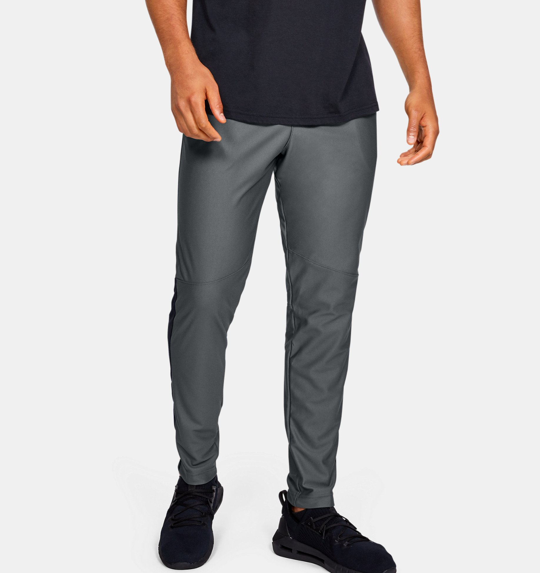 Men's UA Twister Pants, Gray, pdpZoomDesktop image number 0