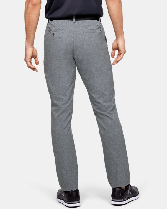 Men's UA Match Play Vented Pants, Gray, pdpMainDesktop image number 2