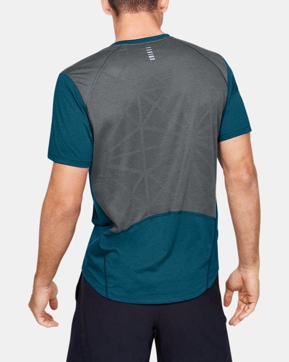 Men's UA Swyft Short Sleeve, Green, pdpMainDesktop image number 2