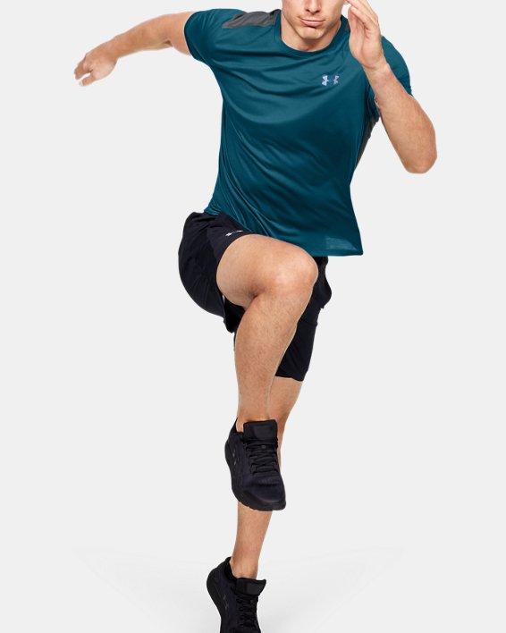 Men's UA Swyft Short Sleeve, Green, pdpMainDesktop image number 1