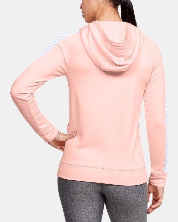 Women's UA Tech™ Terry Full Zip, Orange, pdpMainDesktop image number 2