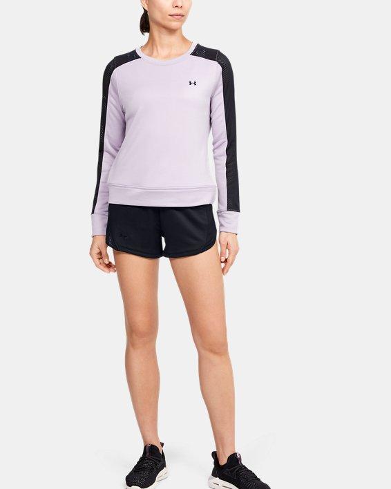 Women's UA Tech™ Terry Shorts, Black, pdpMainDesktop image number 0
