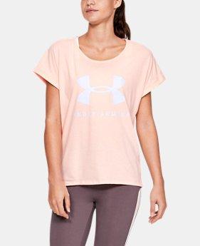 d871d6d1da5ed Women s UA Graphic Sportstyle Fashion Short Sleeve 1 Color Available  25. 1  Color Available. Orange Dream