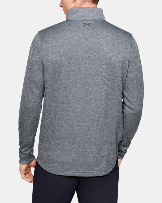Men's UA Storm SweaterFleece ¼ Zip, Gray, pdpMainDesktop image number 2