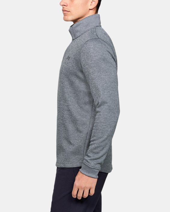 Men's UA Storm SweaterFleece ¼ Zip, Gray, pdpMainDesktop image number 3