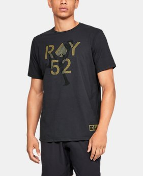 New Arrival Men's UA Ray Lewis 52 Spade T-Shirt  1  Color Available $25