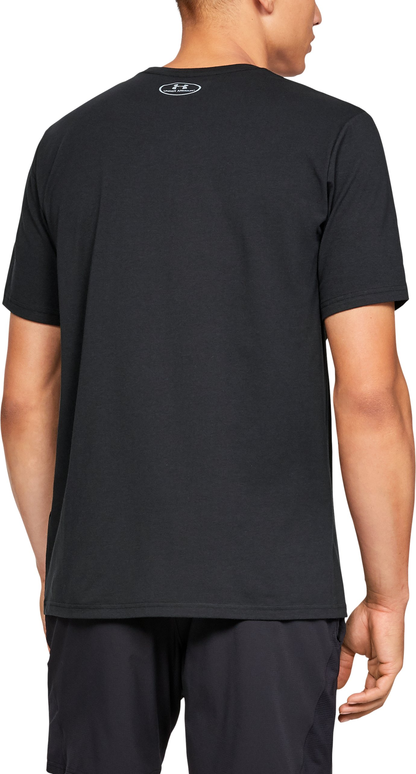 Men's UA Ray Lewis Take Over The City T-Shirt, Black ,