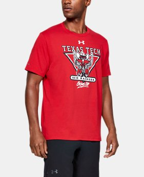 New Arrival Men's Texas Tech Short Sleeve Shirt   1  Color Available $32