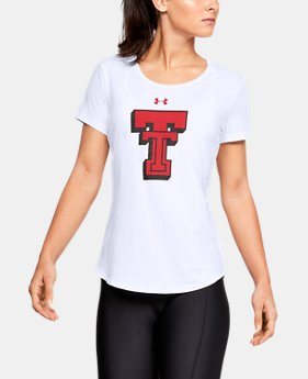 New Arrival Women's Texas Tech Short Sleeve Shirt   1  Color Available $32
