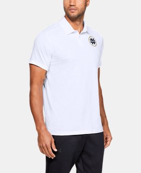 New Arrival Men's UA Microthread Collegiate Polo  1  Color Available $80