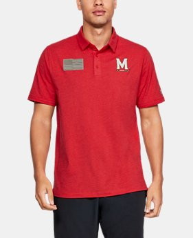 New to Outlet Men's Charged Cotton® Collegiate Polo  1  Color Available $38.5