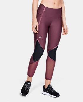 10bd6ba4fe2f7a New Arrival Women's HeatGear® Armour Shine Ankle Crop 3 Colors Available $50