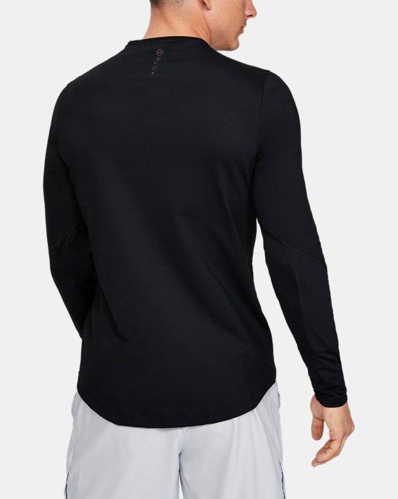 Men's UA RUSH™ ColdGear® Mock, Black, pdpMainDesktop image number 2