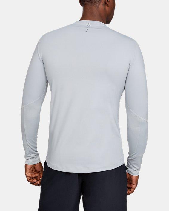 Men's UA RUSH™ ColdGear® Mock, Gray, pdpMainDesktop image number 2