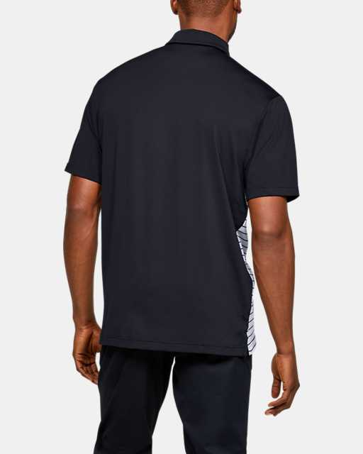 Men's UA Stripe Mix-Up Polo