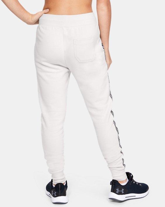 Pantalon UA Sportstyle Fleece pour fille, White, pdpMainDesktop image number 2
