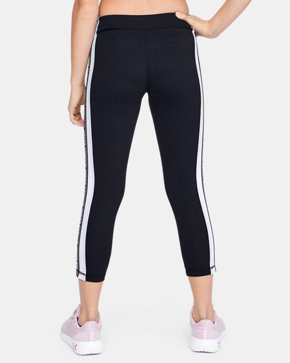 Girls' UA Sportstyle Taped Crop, Black, pdpMainDesktop image number 2