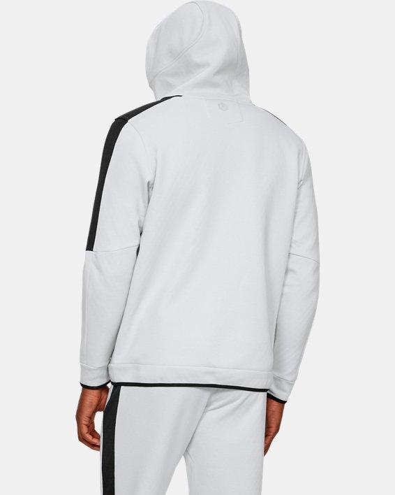 Men's UA RECOVER™ Fleece Full Zip, Gray, pdpMainDesktop image number 2